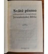 SVÄTÉ PÍSMO S KOMENTÁRMI A MARGINÁLIAMI JERUZALEMSKEJ BIBLIE - malý formát