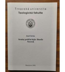 STRUČNÝ PREHĽAD DEJÍN FILOZOFIE NOVOVEK - Jozef Jurina